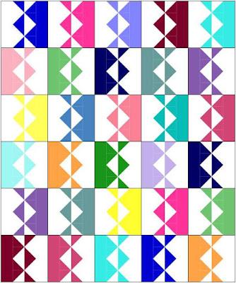 Intertwined quilt block | DevotedQuilter.com