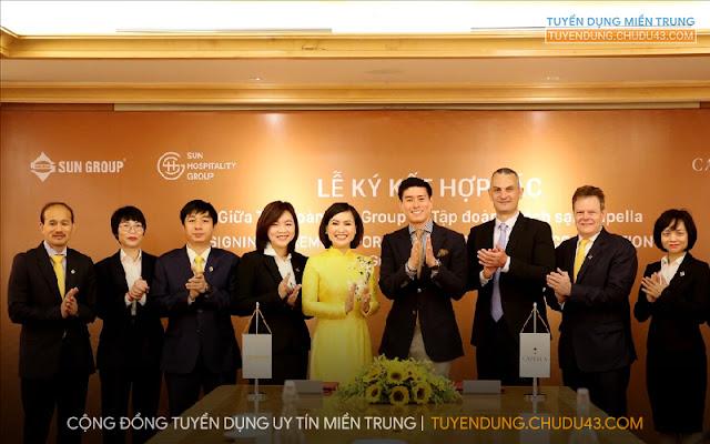 Sun Hospitality Group, Sun Hospitality Group tuyển dụng