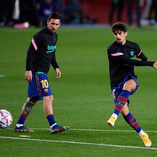 Trincao and Messi forming new Koeman's partnership duo
