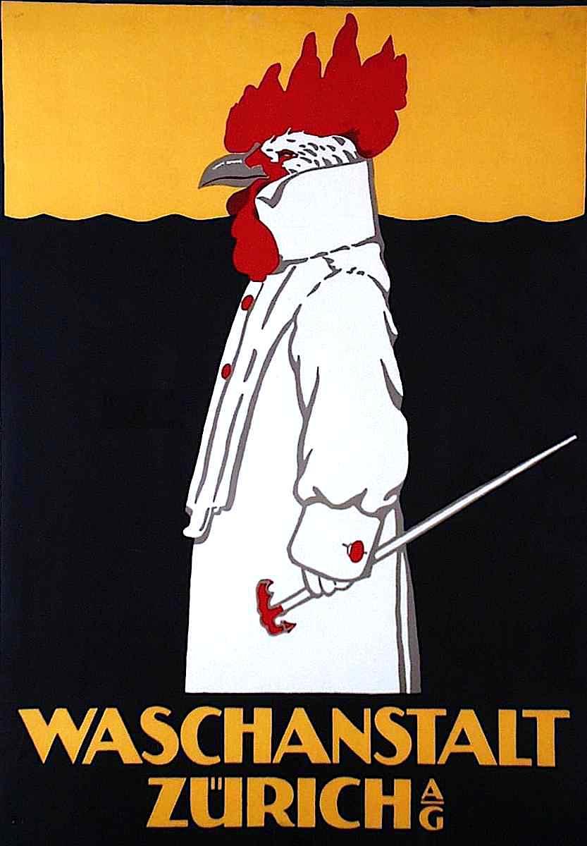 "a 1905 Robert Hardmeier illustration for a ""wash house"", Waschanstalt Zurich a/g"