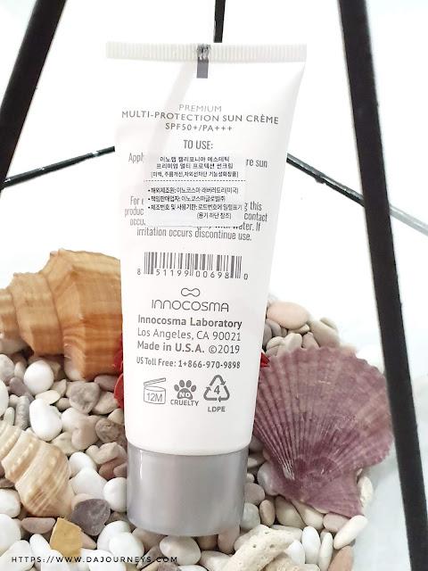Review Inno Lab Multi-Protection Sun Cream