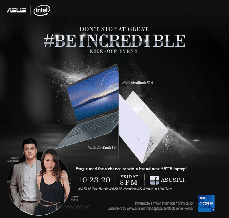 ASUS Philippines launches ZenBook 13 UX325, VivoBook S14 S433 with 11th Gen Intel Core processors