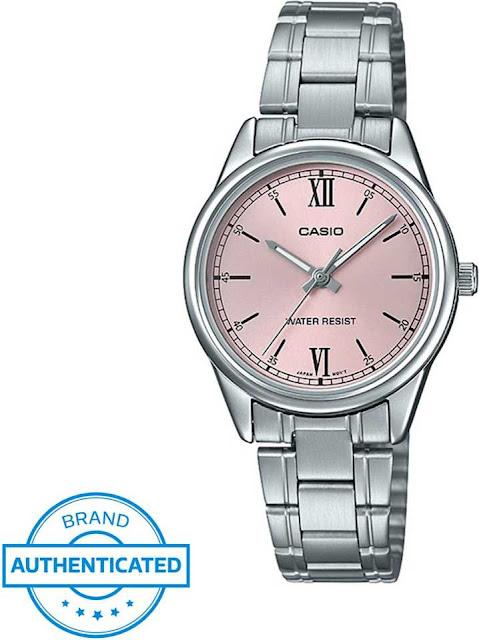 Casio A1678 Enticer Ladies Analog Watch