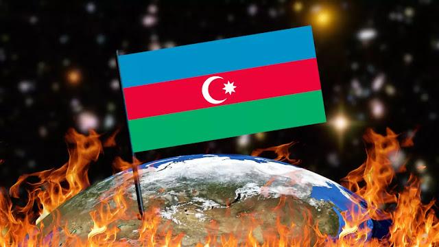 Queimando Bandeiras - Azerbaijão