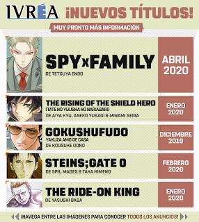 Ivréa anuncia sus nuevas licencias en el 25 Manga Barcelona.