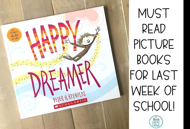 Happy Dreamer Picture Book Activities