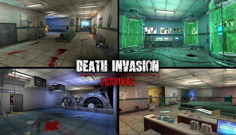 تحميل لعبة Death Invasion افضل لعبة زومبي للاندرويد بدون نت