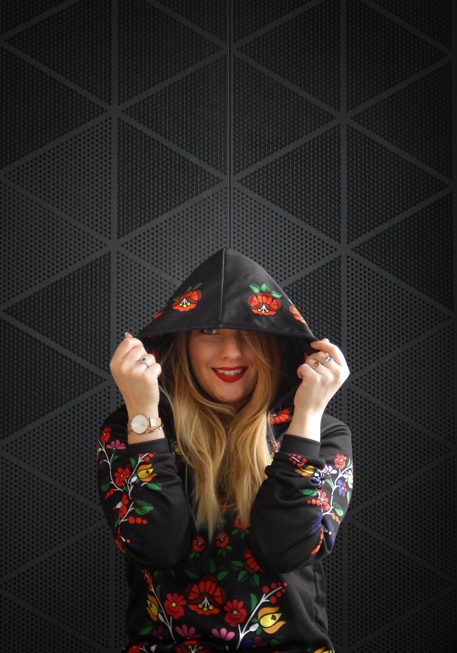 f14-2 folk by koko recenzja opinie ubrania folkowe łowickie motywy bluza góralska sukienka kodra łowicka folkowe ubrania moda ludowa pomysł na prezent fashion blog melodylaniella łódź dworzec łódź fabryczn