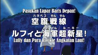 Download Video Terbaru One Piece Episode 780 Subtitle Indonesia