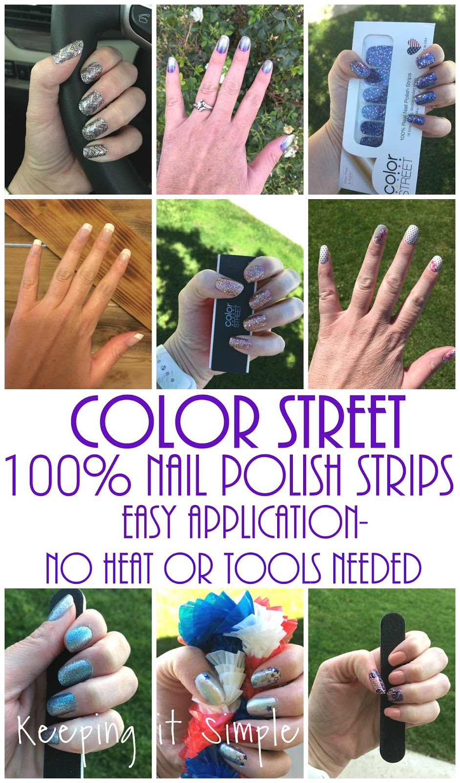 Color lines online strip game - Here Is An Example Of What I Am Talking About With Nail Polish I Had A Sample Of The Color Street The Ones That Are A Design And I Only Did Two