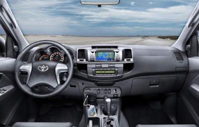 Toyota Hilux 2017 interior image