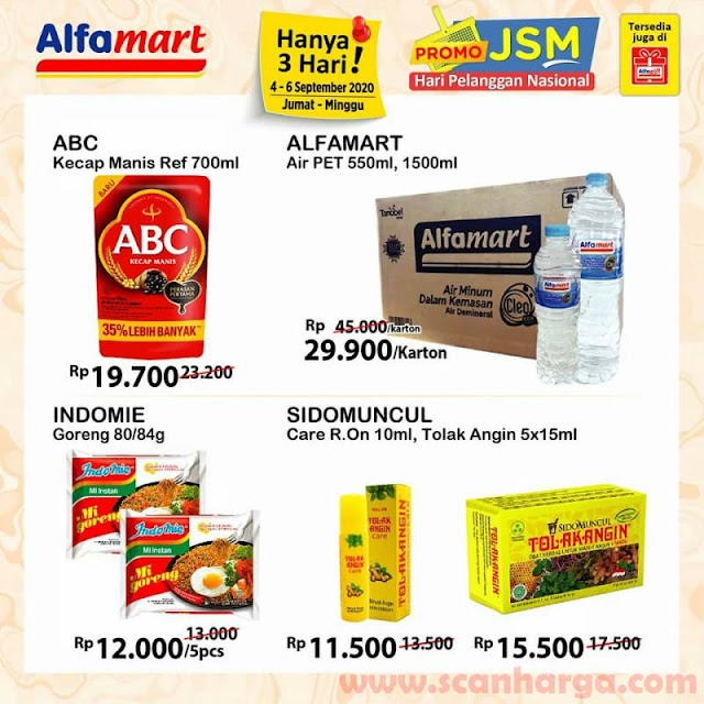 ALFAMART Promo JSM Spesial HARPELNAS - Hari Pelanggan Nasional 4 - 6 September 2020 4