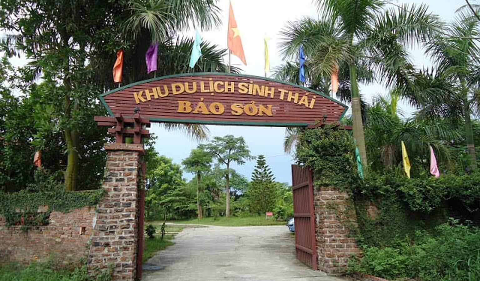 Khu du lịch sinh thái Bảo Sơn.
