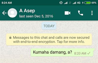 tanda whatsapp diblokir orang lain, tidak bisa kirim chat