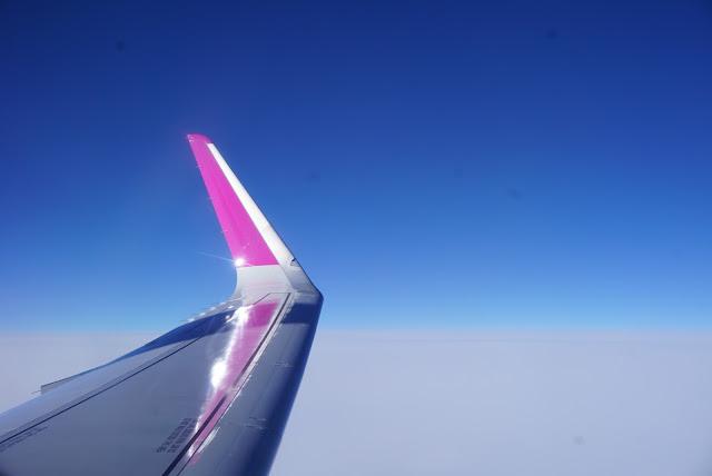 airplane to Barcelona