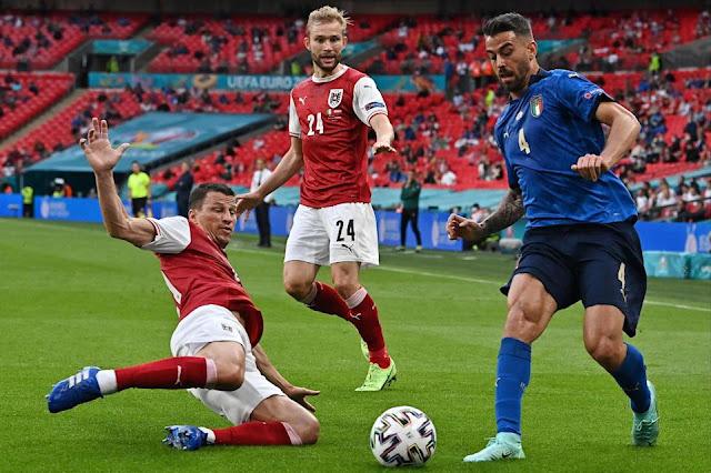 Euro 2020 - Italy 2-1 Austria
