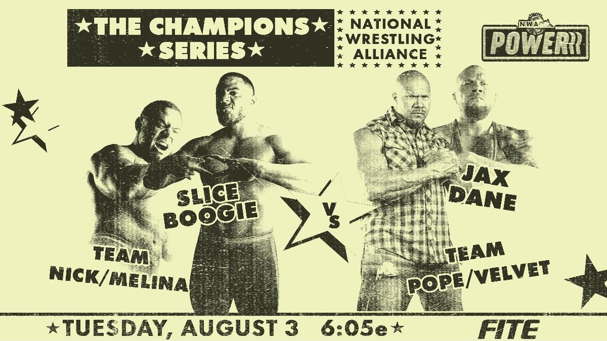Cobertura: NWA Powerrr (03/08/2021) – Nos vemos nas finais!