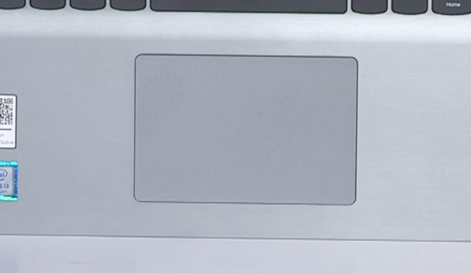 4.5-inch wider touchpad of Lenovo IdeaPad S145 laptop.