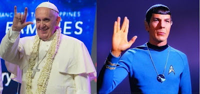Pope and Spock
