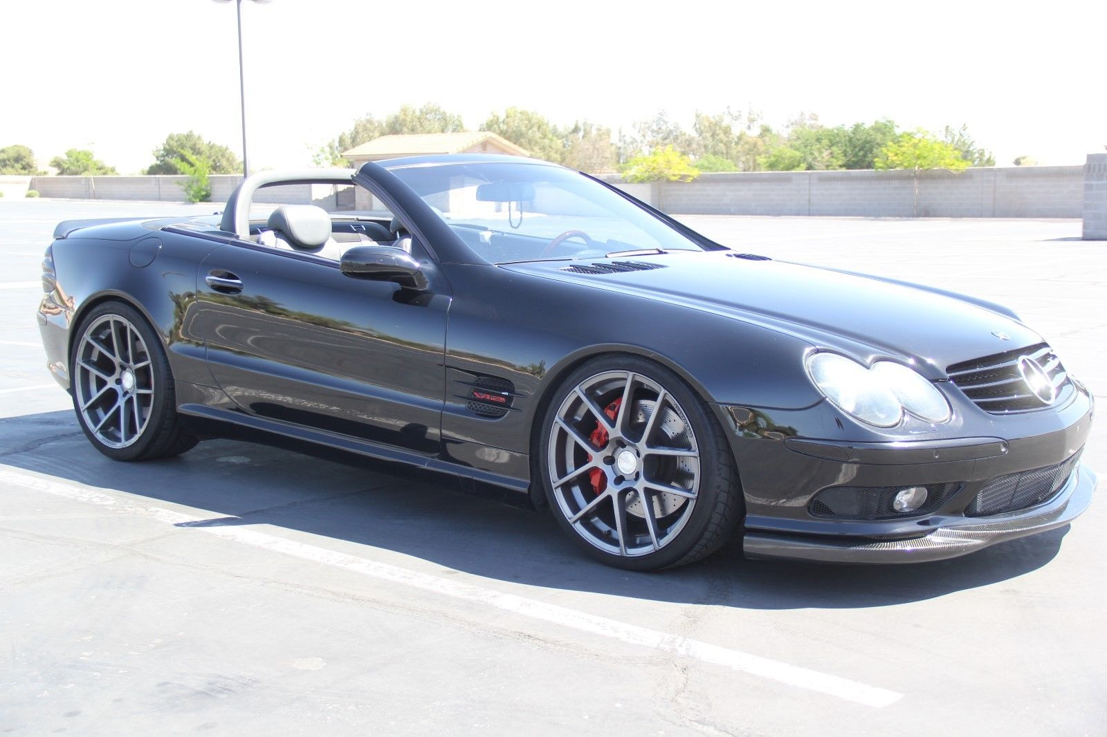 2004 mercedes benz r230 sl600 on 20 avant garde wheels. Black Bedroom Furniture Sets. Home Design Ideas