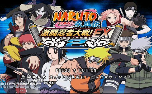Free download game Naruto Shippuden Gekitou Ninja Taisen EX