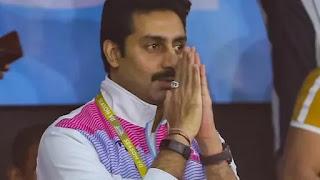 Abhishek Bachchan become CM for film 'Dasvee'