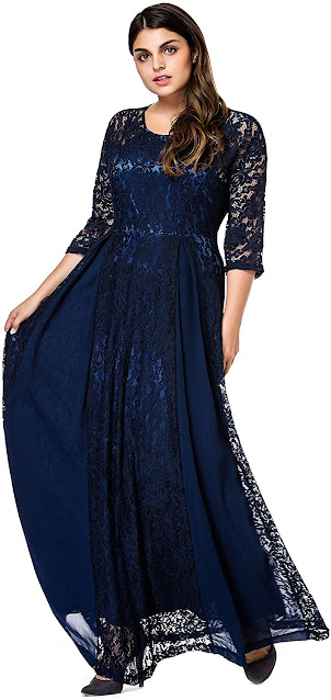 Beautiful Navy Blue Mother of The Groom Dresses