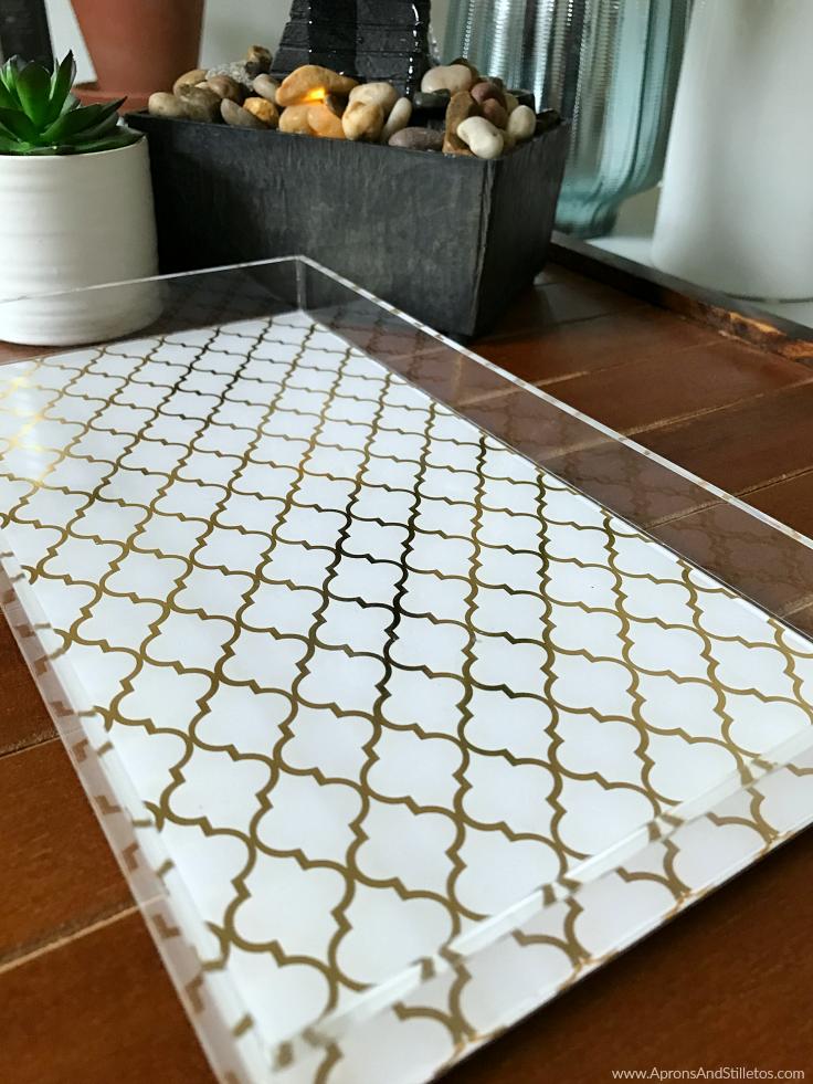 Easy DIY Vanity Tray Steps