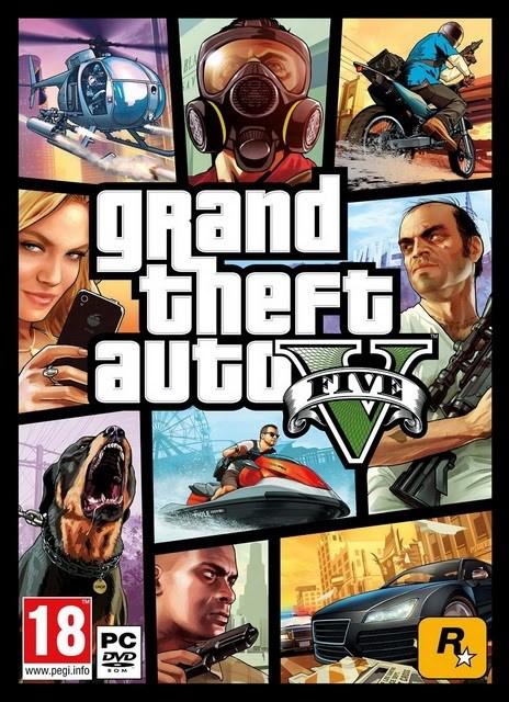 [GTA 5] Grand Theft Auto V + Update 5 + Crack V5 FiX | Mega Uploaded Turbobit