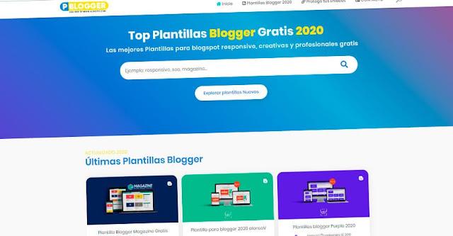 el mejor espacio de plantillas blogger gratis