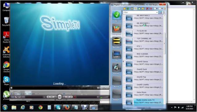 برنامج, لتشغيل, IPTV, ومشاهدة, البث, التلفزيوني, على, الكمبيوتر, SimpleTV