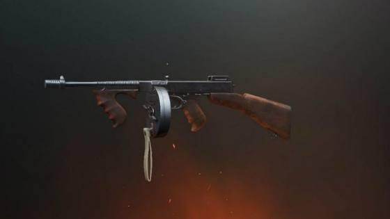 senjata pubg Thompson PUBG