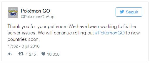 Niantic se pronuncia sobre os problemas de conectividade de Pokémon GO