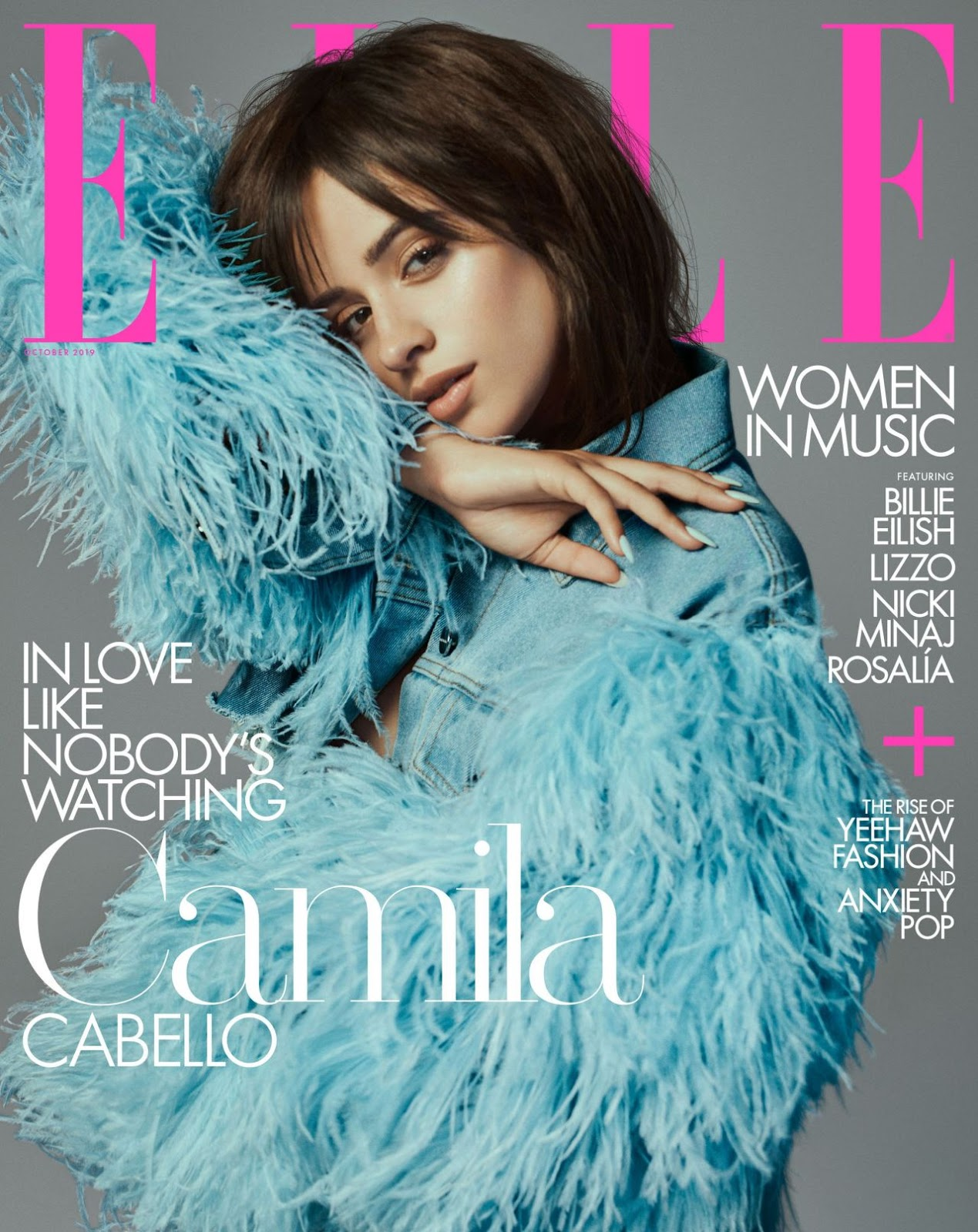 Camila Cabello – ELLE October 2019 Cover and Photos
