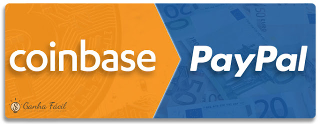 coinbase paypal troca transferência dinheiro