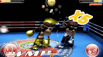 Game Android Multiplayer Monkey Boxing