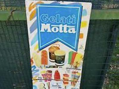 La granita Lemon Soda e Oran Soda Motta anni '90