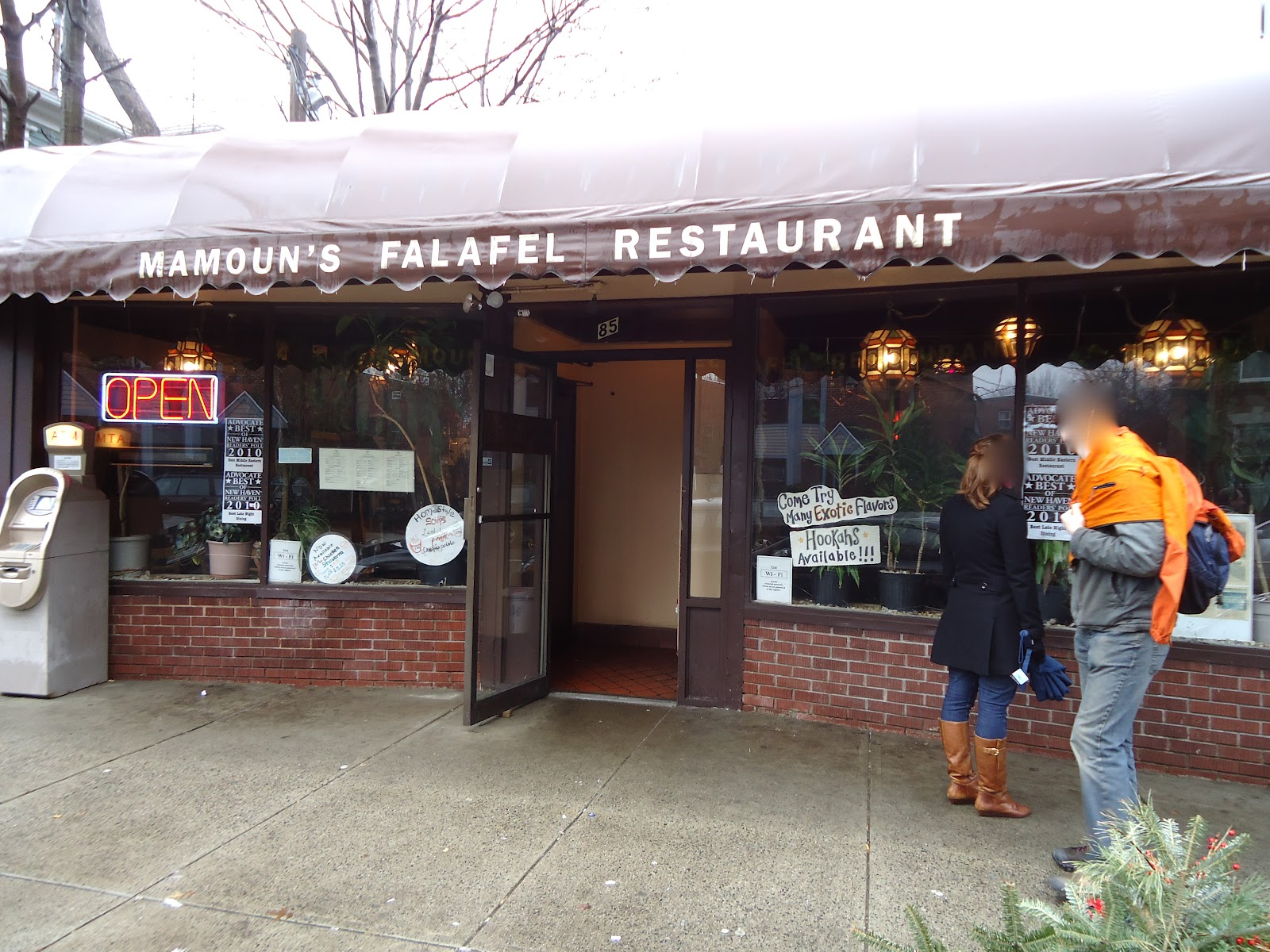 Mamoun S Falafel Restaurant In New Haven Connecticut Vegan Eats Yale Town