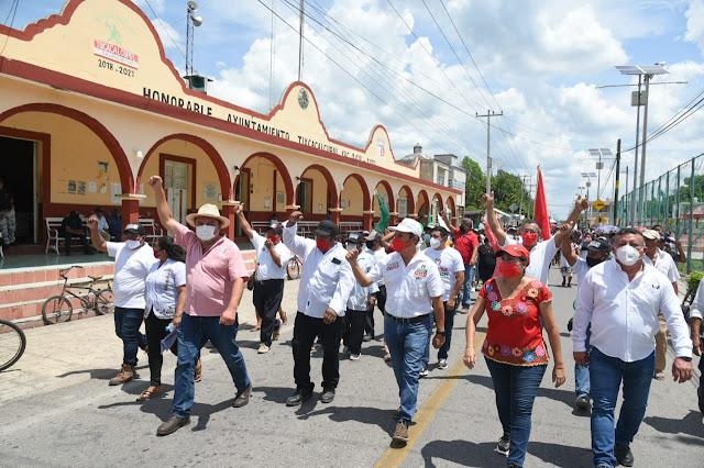 Exigen priistas al gobernador un alto a la violencia que han desatado el PAN y sus candidatos