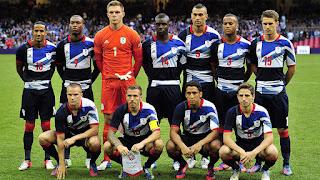 Tim Sepak Bola Nasional Inggris Raya di Olimpiade