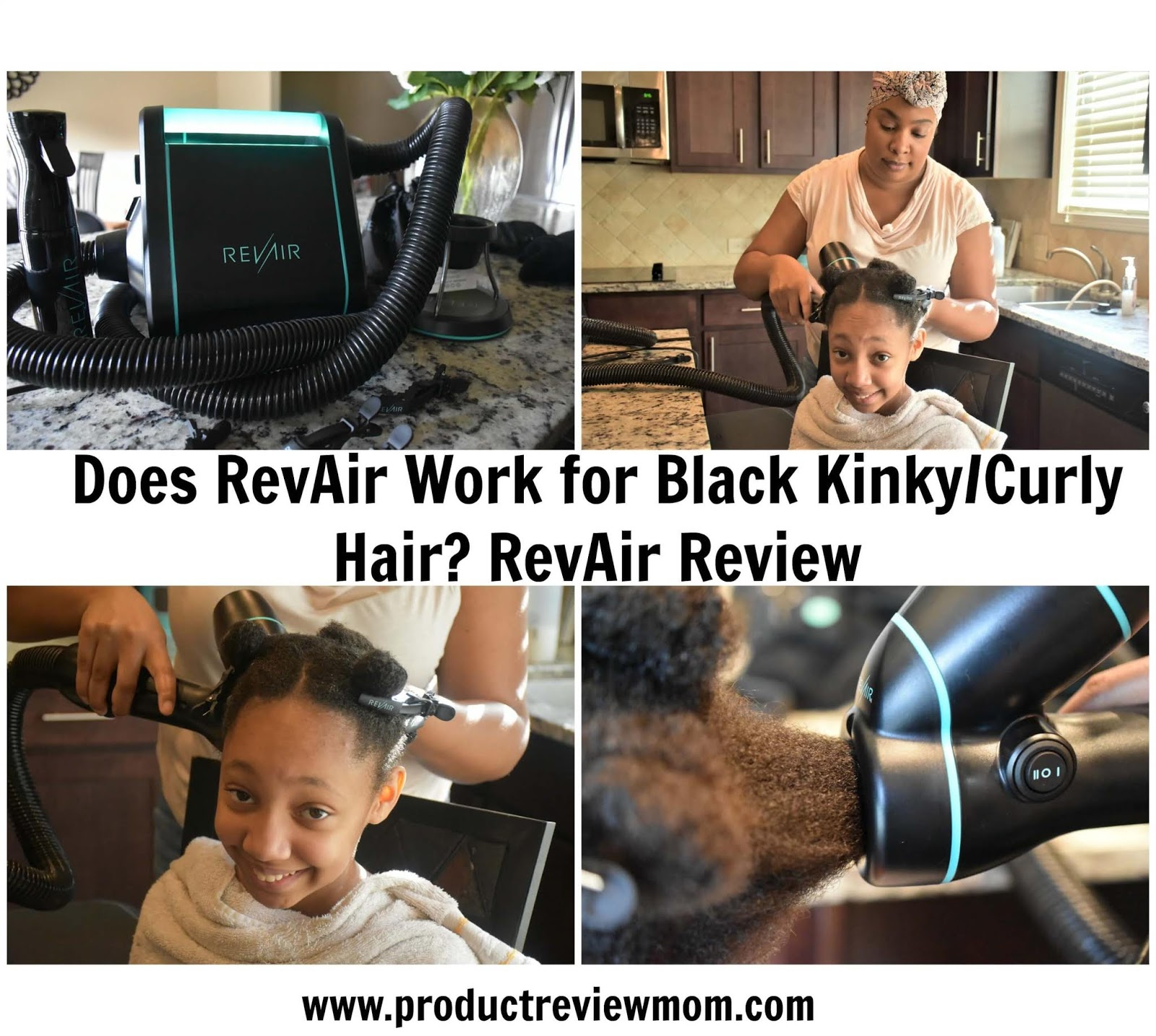 Video: Does RevAir Work for Black Kinky/Curly Hair? RevAir Review