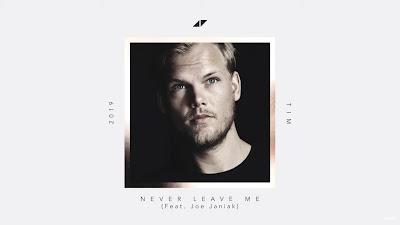 Avicii - Never Leave Me (#Lyric #Video) ft. Joe Janiak #TIM