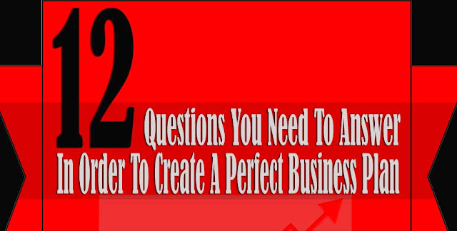 12 Questions You Need To Answer In Order To Create A Perfect Business Plan