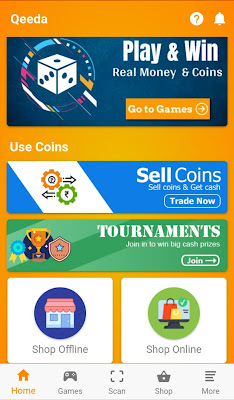 Qeeda game earning application appguru paytm tech trick