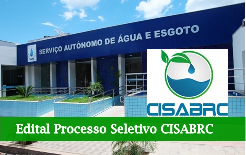 edital processo seletivo CISABRC 2017