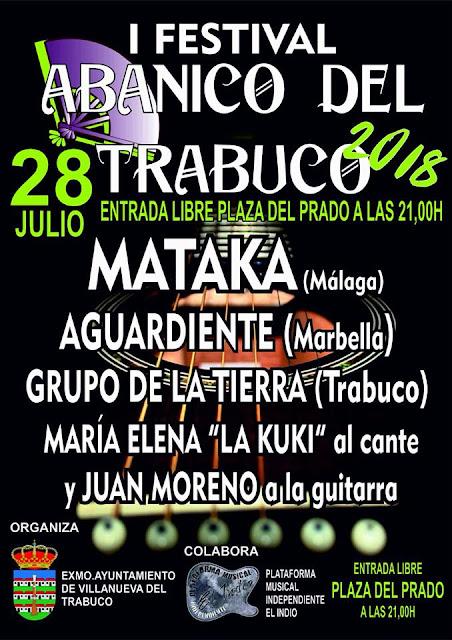Festival Abanico del Trabuco 2018