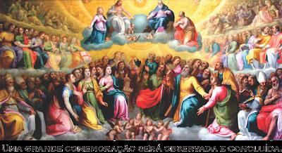 Resultado de imagem para santos no ceu