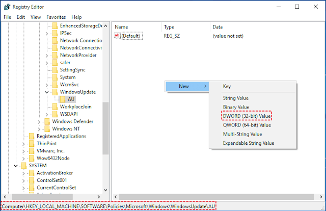 How to Stop Windows 10 Updates Using Registry