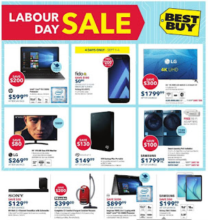 Best Buy Labour Day Sales September 1 - 7, 2017