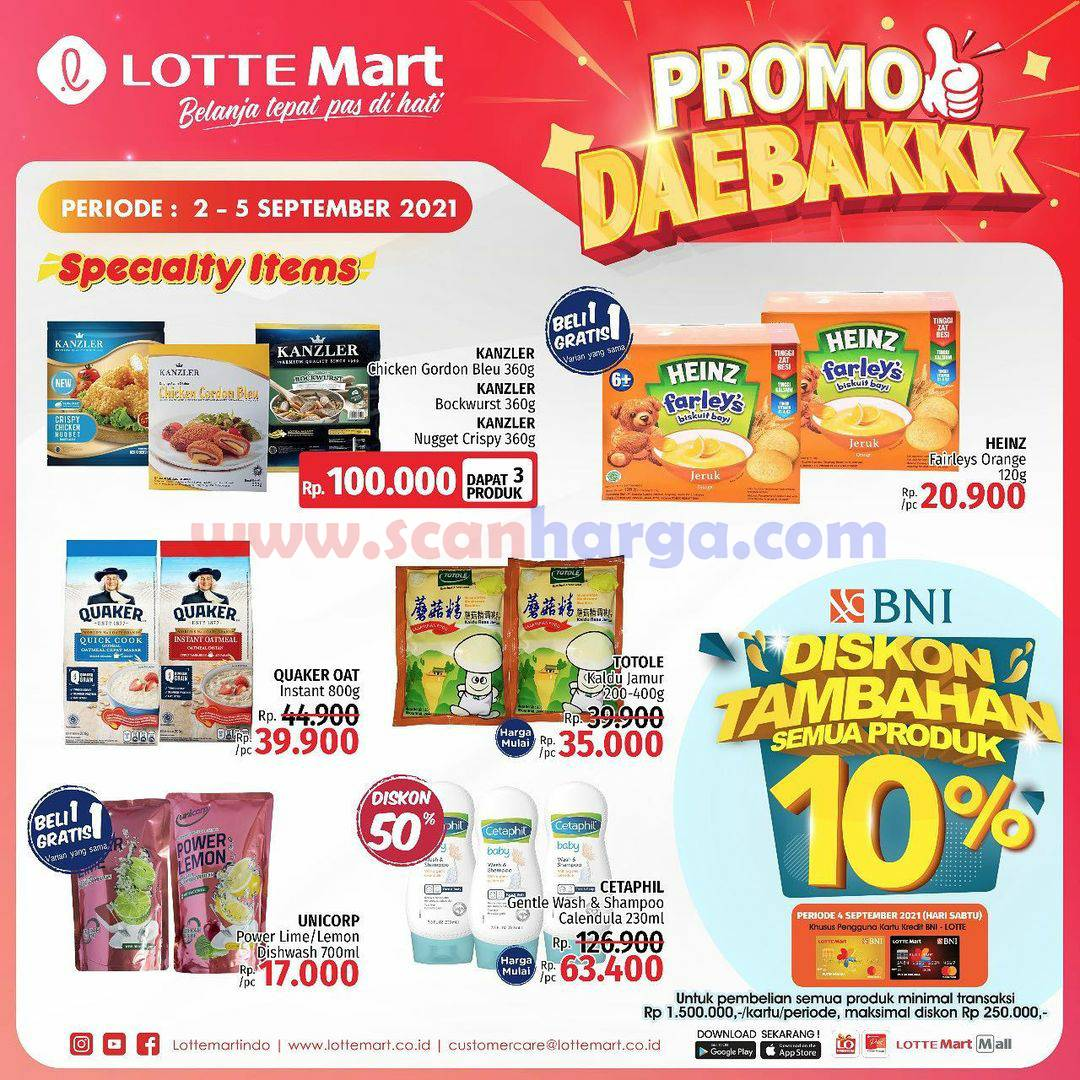 Katalog Promo Lottemart Weekend 2 - 5 September 2021 2